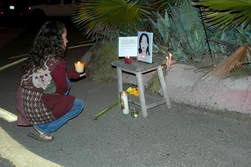 Eun Kang Candlelight Vigil