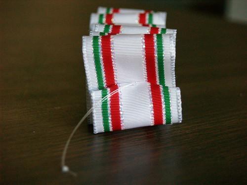 Ribbon Candy Ornament, Step 5