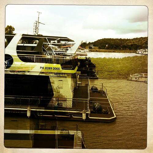 Houseboats near Mannum