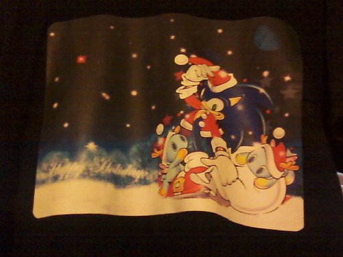 Sonic Holiday Shirt