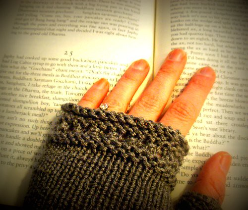 Susie's Reading Mitts