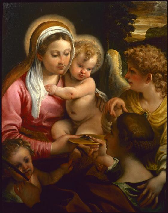 Virgin and Child with Saint Lucy and the Young John the Baptist