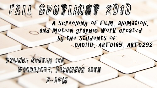 Rebecca Ziegler, Spotlight postcard design