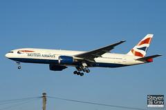 G-YMMJ - 30311 - British Airways - Boeing 777-236ER - 101205 - Heathrow - Steven Gray - IMG_5511