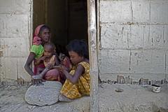 Mother & Child (dipu10dhaka) Tags: people house home cup stone kids rural canon village child mud room human 7d callender motherchild sylhet bangladesh mothter dipu10dhaka