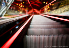 Highway to Hell (100% made in Friuli) Tags: scale colors stairs canon germany lights frankfurt 5d luci colori germania francoforte 35lf14