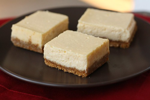 Eggnog Cheesecake Bars | Tracey's Culinary Adventures