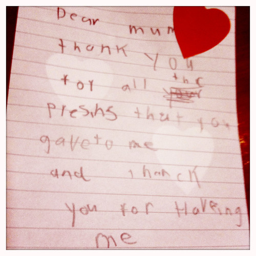 Dear mum. Day 24/365