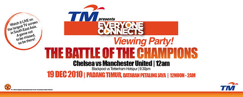 EveryoneConnects Manchester United Vs Chelsea Viewing Party
