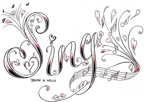 Dance Tattoo Design by Denise