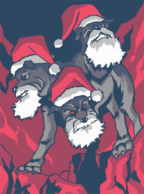 19 - Cerberus Santa