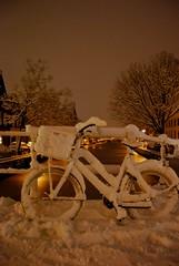 Winter (paparazzi4) Tags: winter snow netherlands december sneeuw alkmaar 2010 oudegracht ijs northholland
