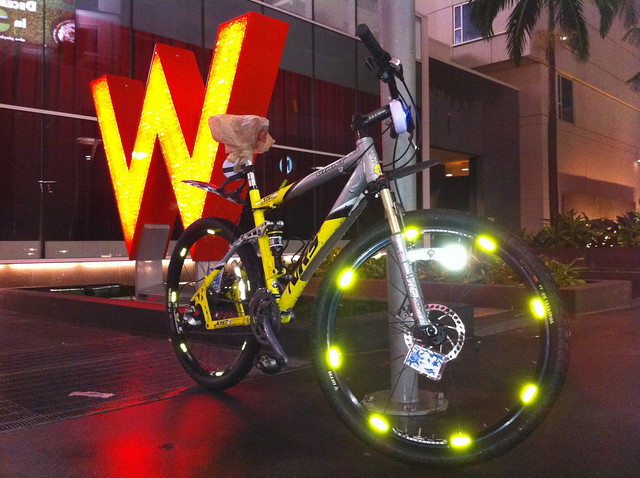 Be Seen Reflective Stickers Work!