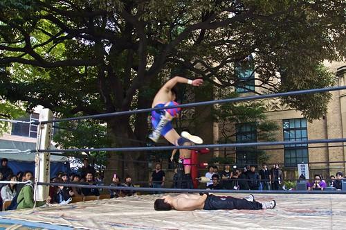 Keio Mita Festival 2010 - Wrestling