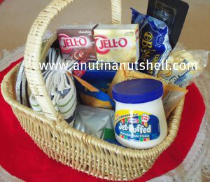 Cool Whip Holiday Gift Basket