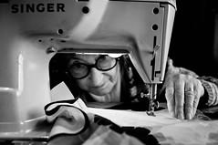 Nonna Gilda (missing her) (<SMarti>) Tags: grandmother singer granny sewingmachine nonna gilda macchinadacucire