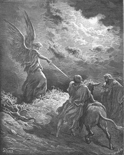 An Angel Appears to Balaam (1866)