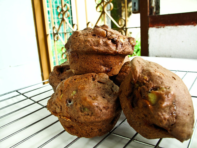 IMG_0992 Chocolate Banana muffins