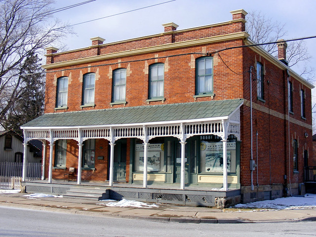 Former Morrish General Store at Kingston and Meadowvale Roads