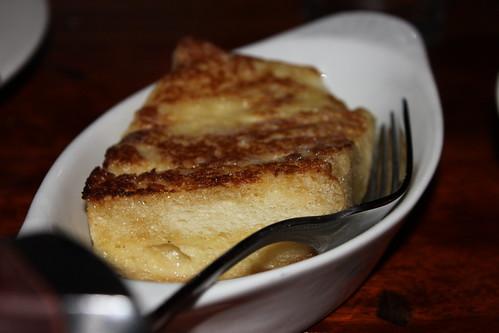 Bone Marrow Bread Pudding