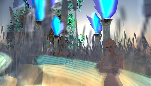 rafee building riverland sky waterfall