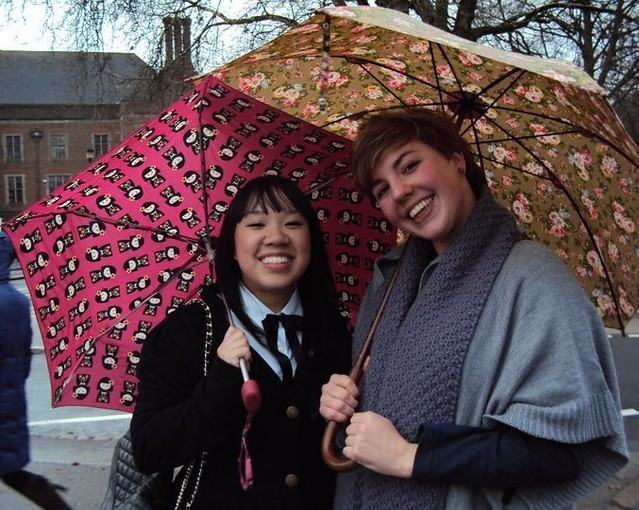 grad day me and claire