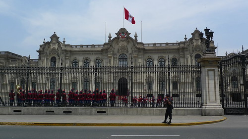 Changing of the Guard - Lima, Peru