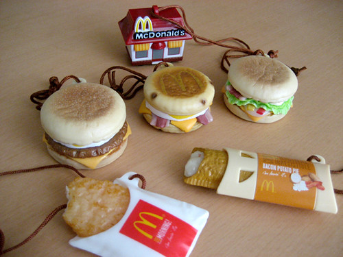 McDonald's FOOD STRAPS part2 !!