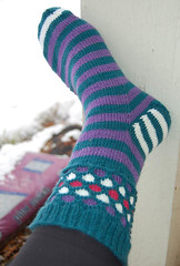 2010 crazy sock