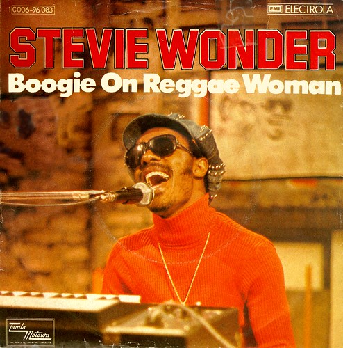 Wonder, Stevie - 15 - Boogie On Reggae Woman - D - 1974