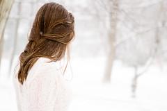(juleyah) Tags: winter selfportrait snow blizzard prettydress freepeople dayafterchristmas2010