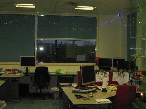Lights in the office