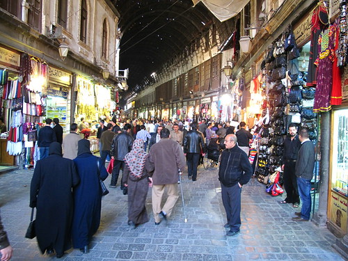 Souq Al Hamidiyya Old City Damascus
