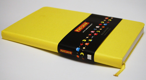 Yellow Moleskine Pac-Man Edition