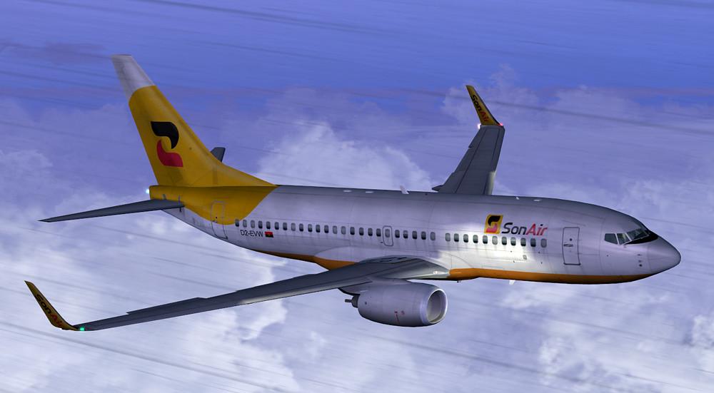 Sonair Boeing 737-700 5300409619_f5e538ef64_b