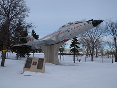 Snowbound CF-101 Voodoo (Concorde Nick) Tags: airplane fly flying aircraft aviation nick flight olympus concorde dslr e5 artphoto e520 concordenick concordenickartphoto wwwconcordenickcom concordenickcom