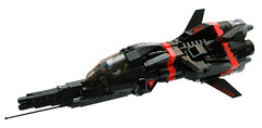 "R-50/J ""Black Dragon"" (Brainbikerider) Tags: lego space scifi spacecraft moc starfighter foitsop"