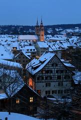 Winterthur Altstadt (steffi's) Tags: schnee winter snow schweiz switzerland december nightshot suisse nacht bluehour dezember svizzera altstadt oldtown oldcity ch winterthur 8400 blauestunde zh kantonzürich