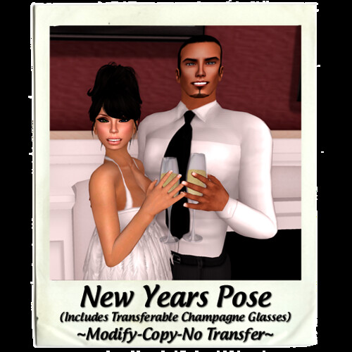 ICED - New Years Pose