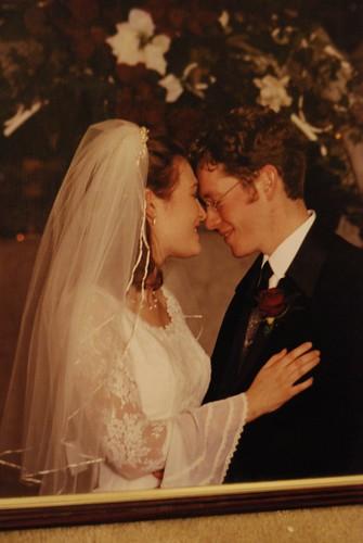 Wedding photo color edit