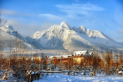 Happy New Year from Tatras (Edgar Barany) Tags: sky mountain snow mountains cold ice clouds high peak freeze slovakia tatry tatras tatra eslovaquia hightatras vysoktatry barany theunforgettablepictures 2470mmf28g edgarbarany bestcapturesaoi elitegalleryaoi