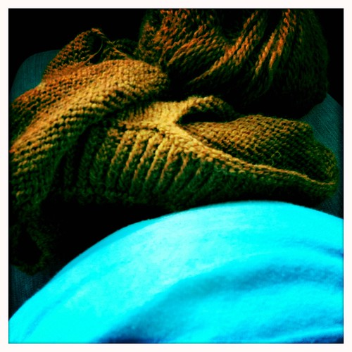 Car Knitting & The Big Belly