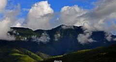 Going Nowhere (Rahul (Busy)) Tags: blue sky india black mountains rain clouds dark lights nikon shadows bhutan thimpu paro northeast himalayas d90