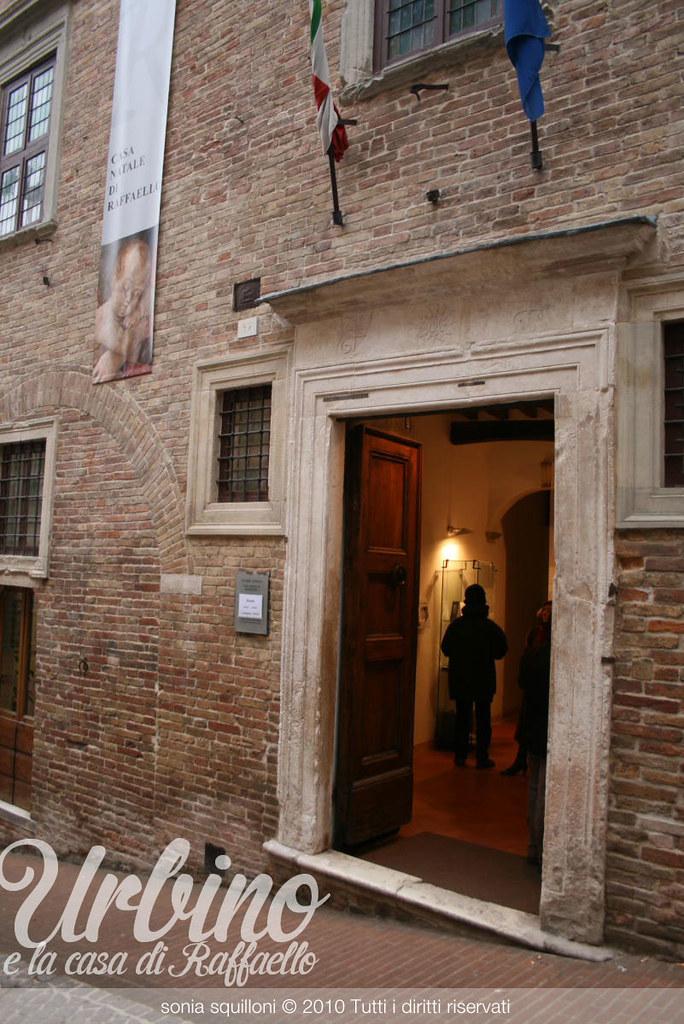 Urbino, e la casa di Raffaello
