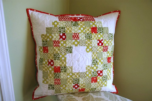 Christmas Wreath pillow