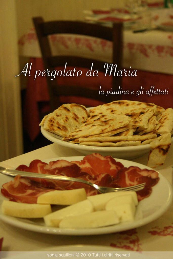 Il Pergolato della Maria a Novilara Pesaro