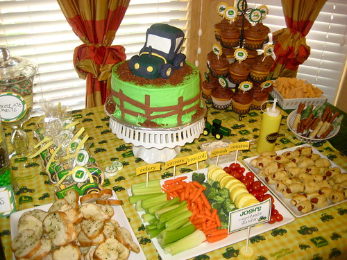 Kami Buchanan Custom Designs John Deere Birthday Party