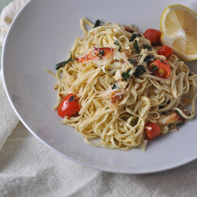 5326202310 86272d247a z Crab Pasta: When the Season is Right