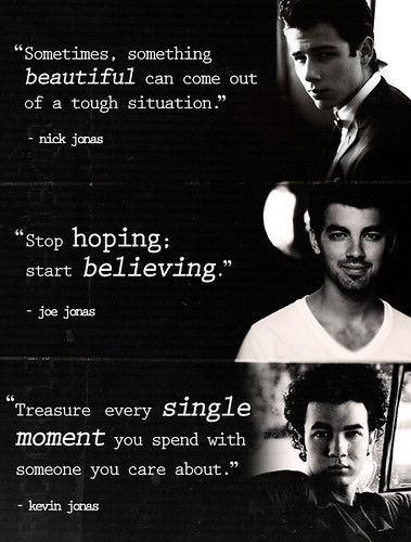 quotes about older brothers. the quotes from the jonas