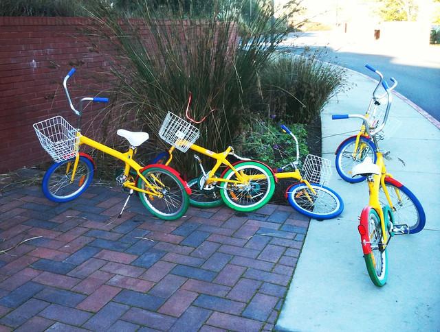 Googleplex loaner bikes